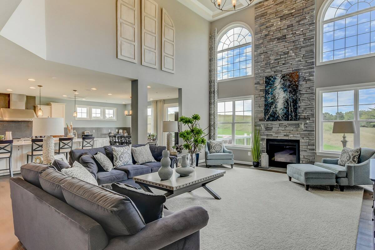 colorado family room new homes at magness farms in maryland