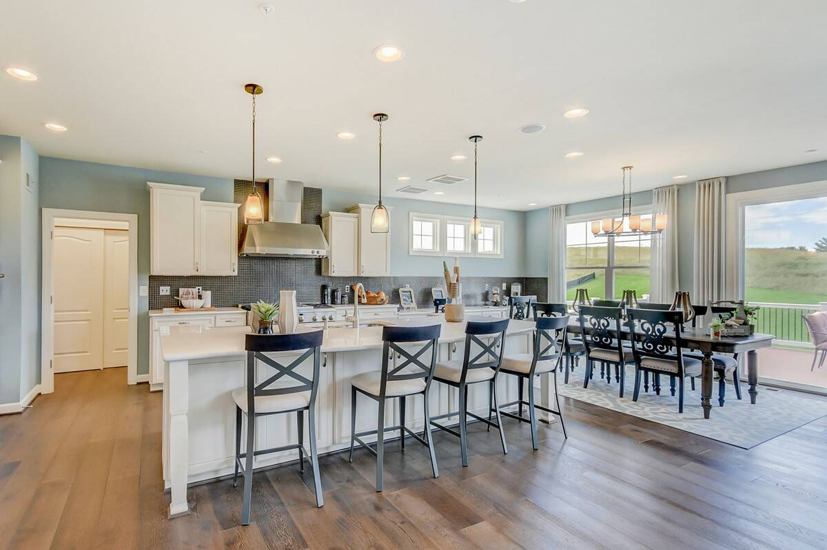 colorado kitchen new homes at magness farms in maryland