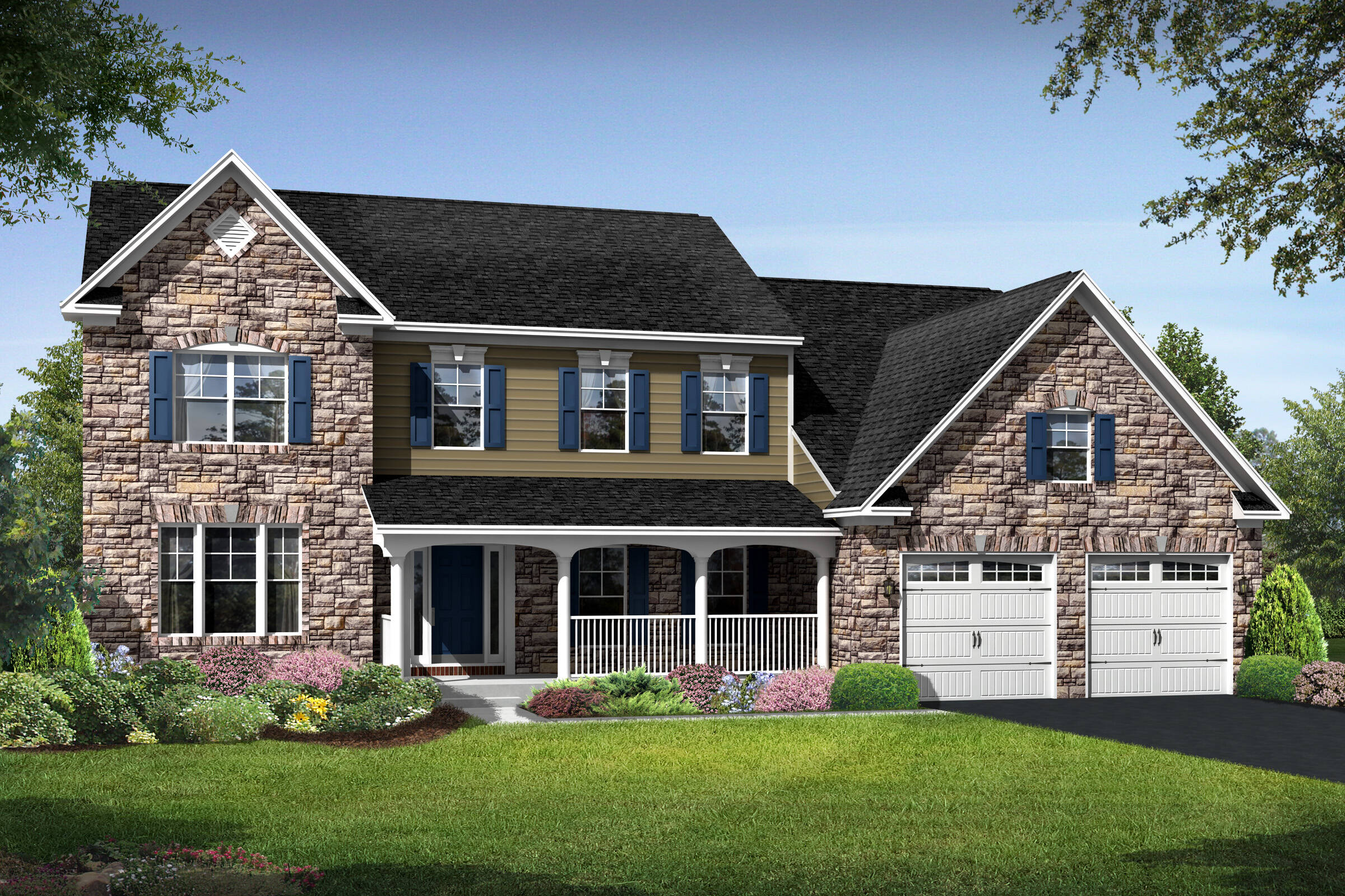 rhode island country new homes at magness farm in virginia