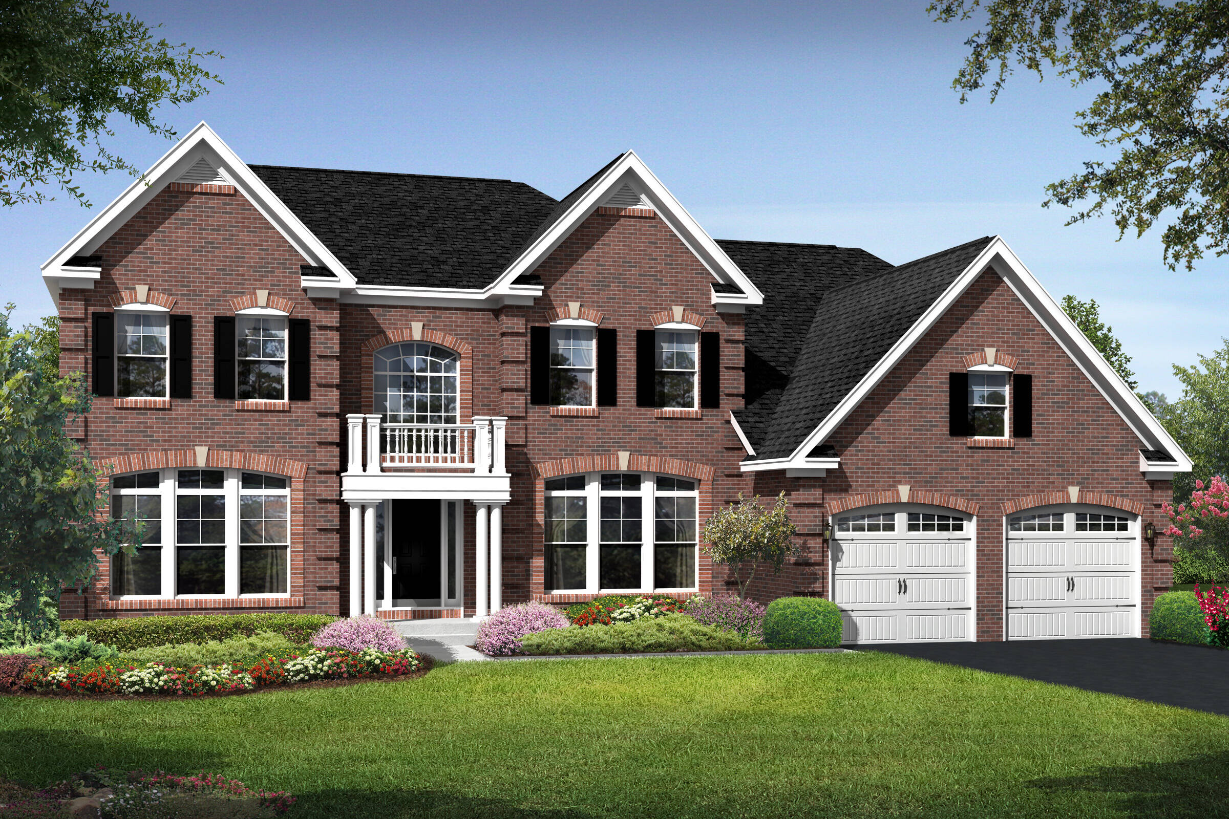 rhode island new england new homes at magness farm in virginia