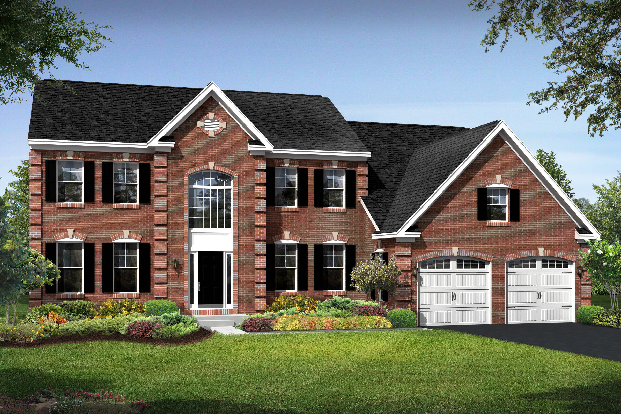 rhode island traditional new homes at magness farm in virginia