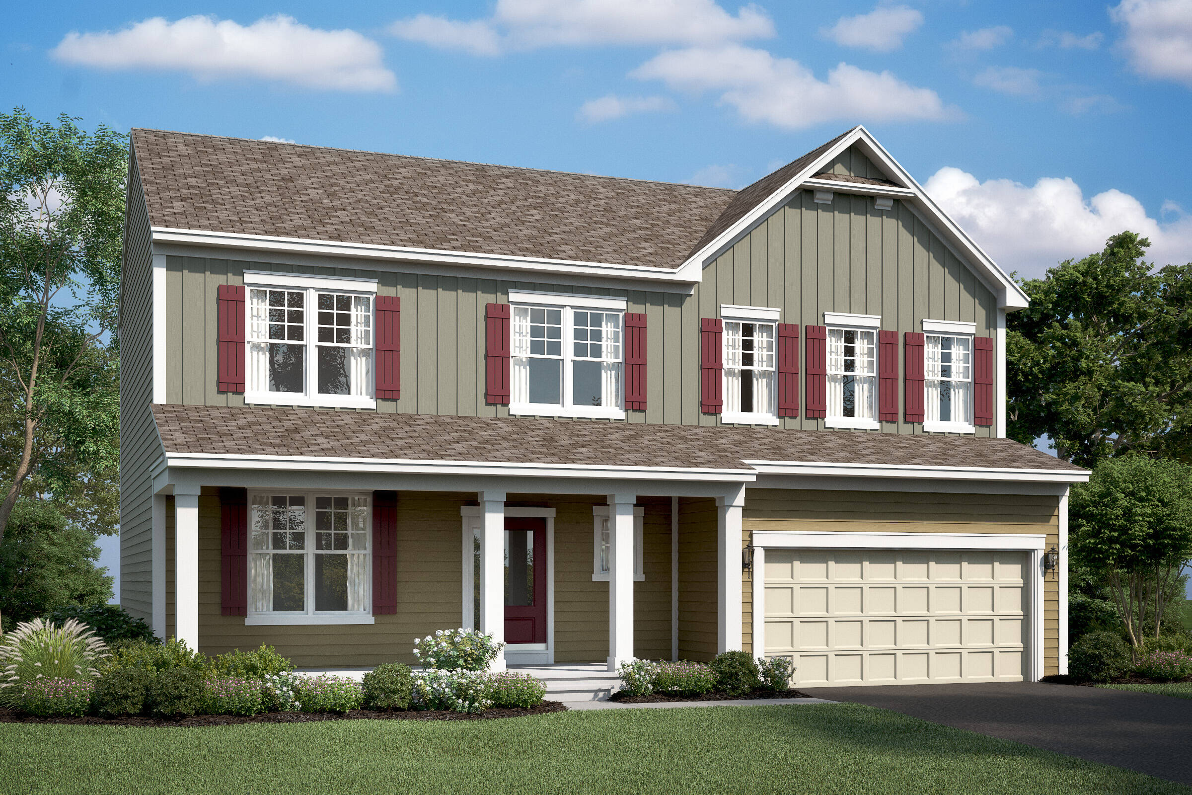 hancock III c new homes at stone mill in maryland