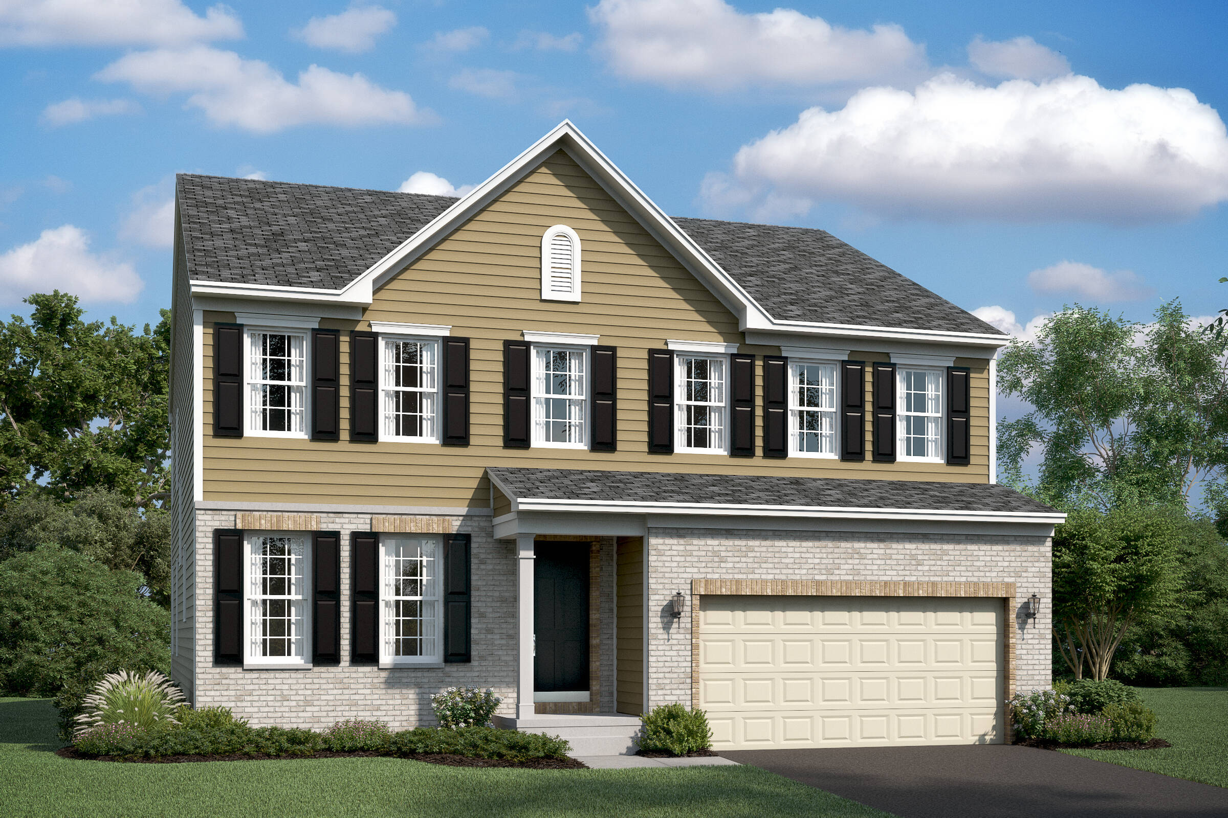 lancaster bb new homes at stone mill in maryland