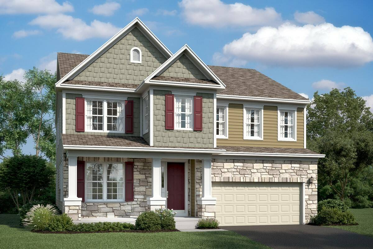lexington gt new homes at at stone mill in maryland