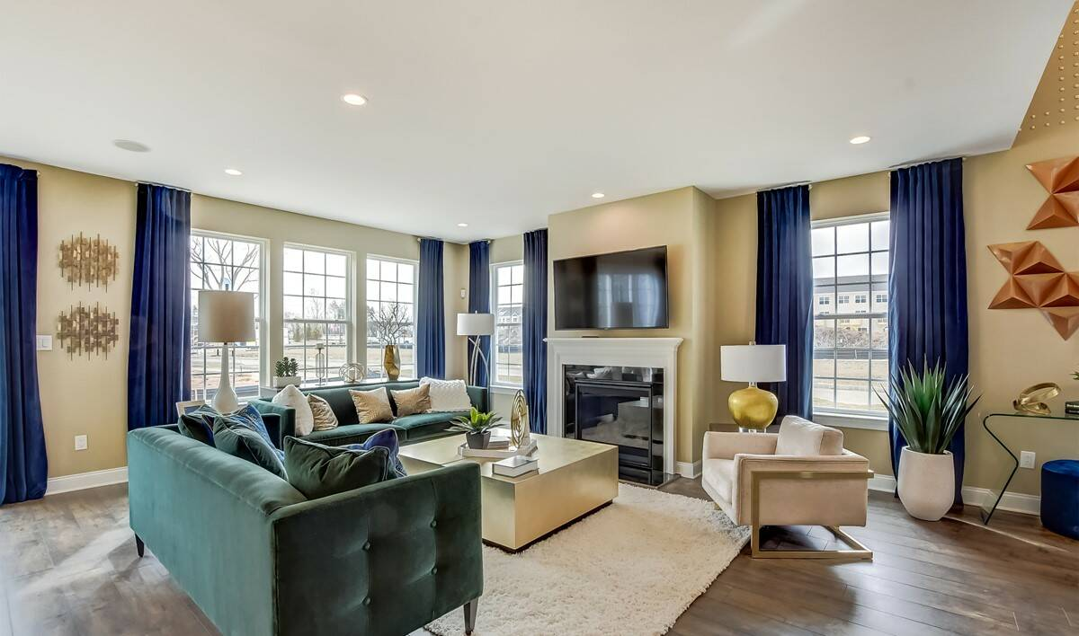 Arbors at Monroe Claremont Great Room-3