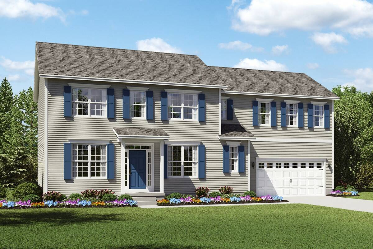 Build on your lot home designs pendleton ii for Build house on your land