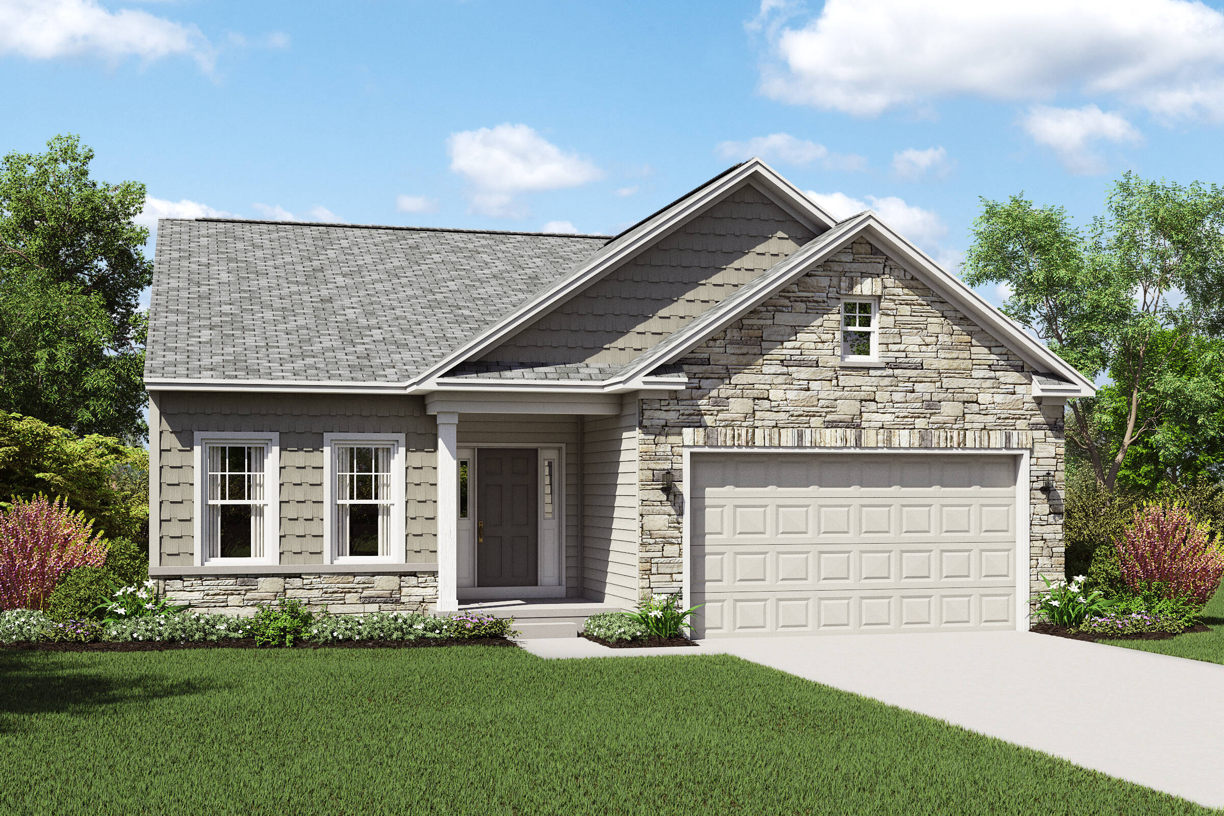 ranch floor plan in lorain ohio