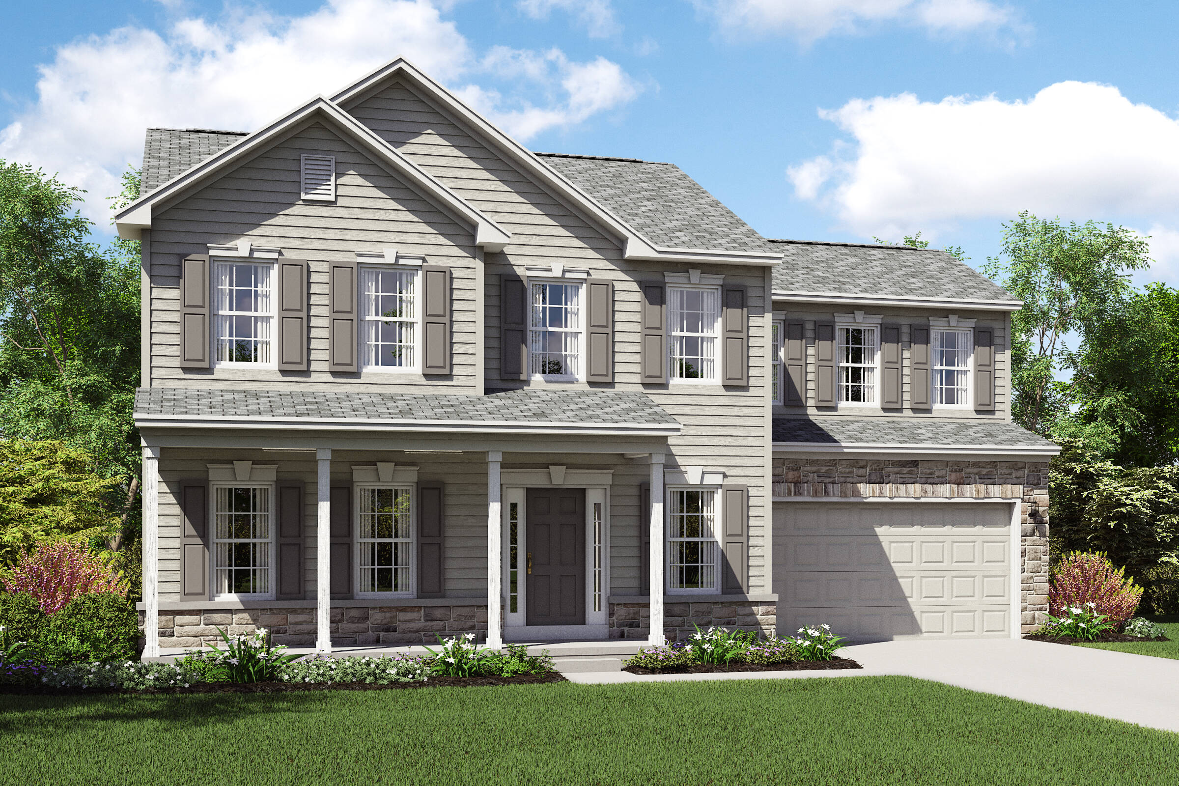 Waterford plan with four bedrooms