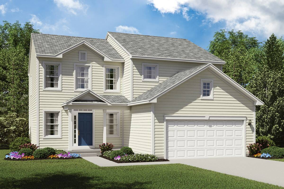 Floor Elevation Tag : Herrington place new homes in reminderville oh