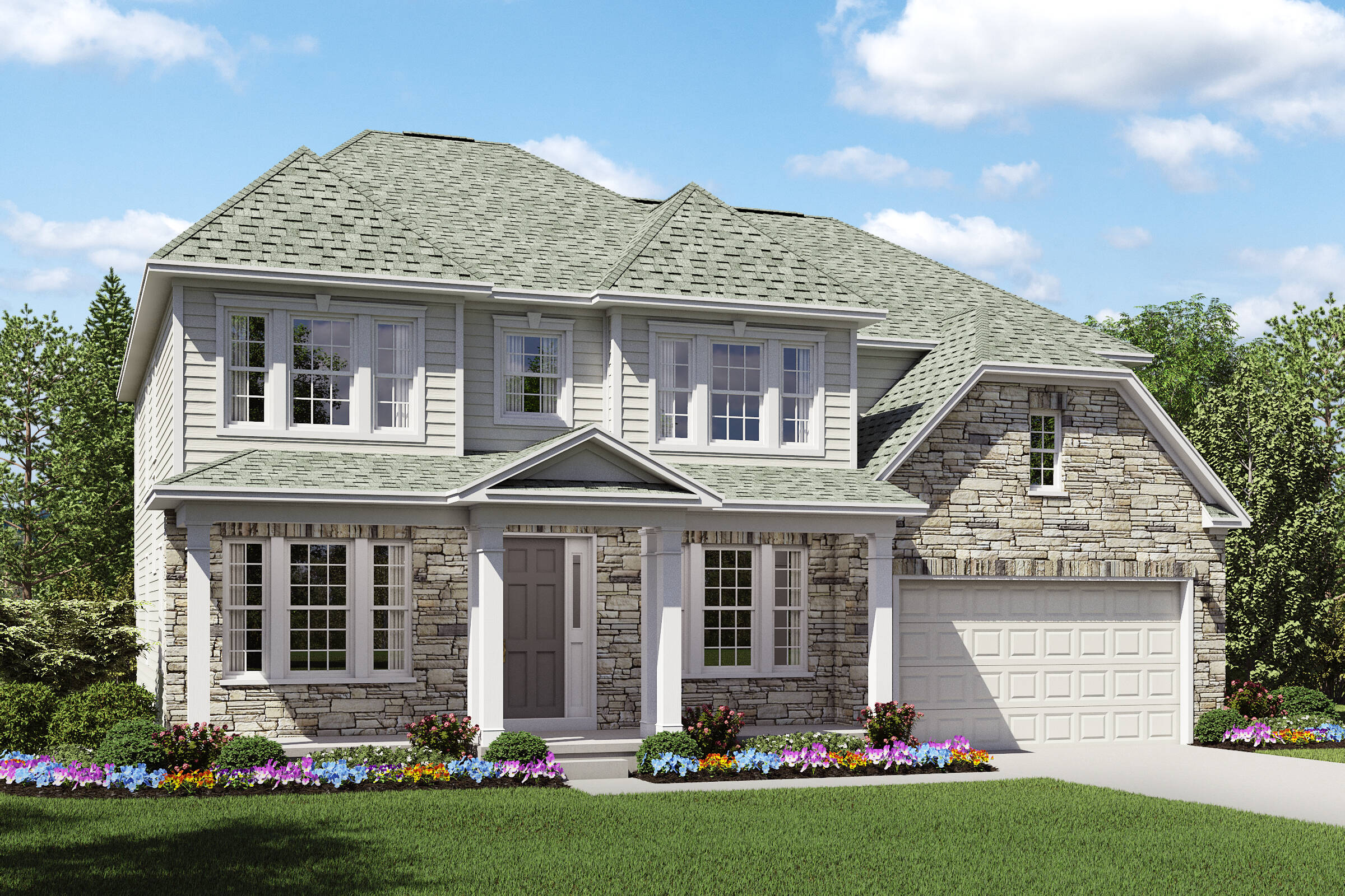 beaumont JT two story new homes northeast ohio