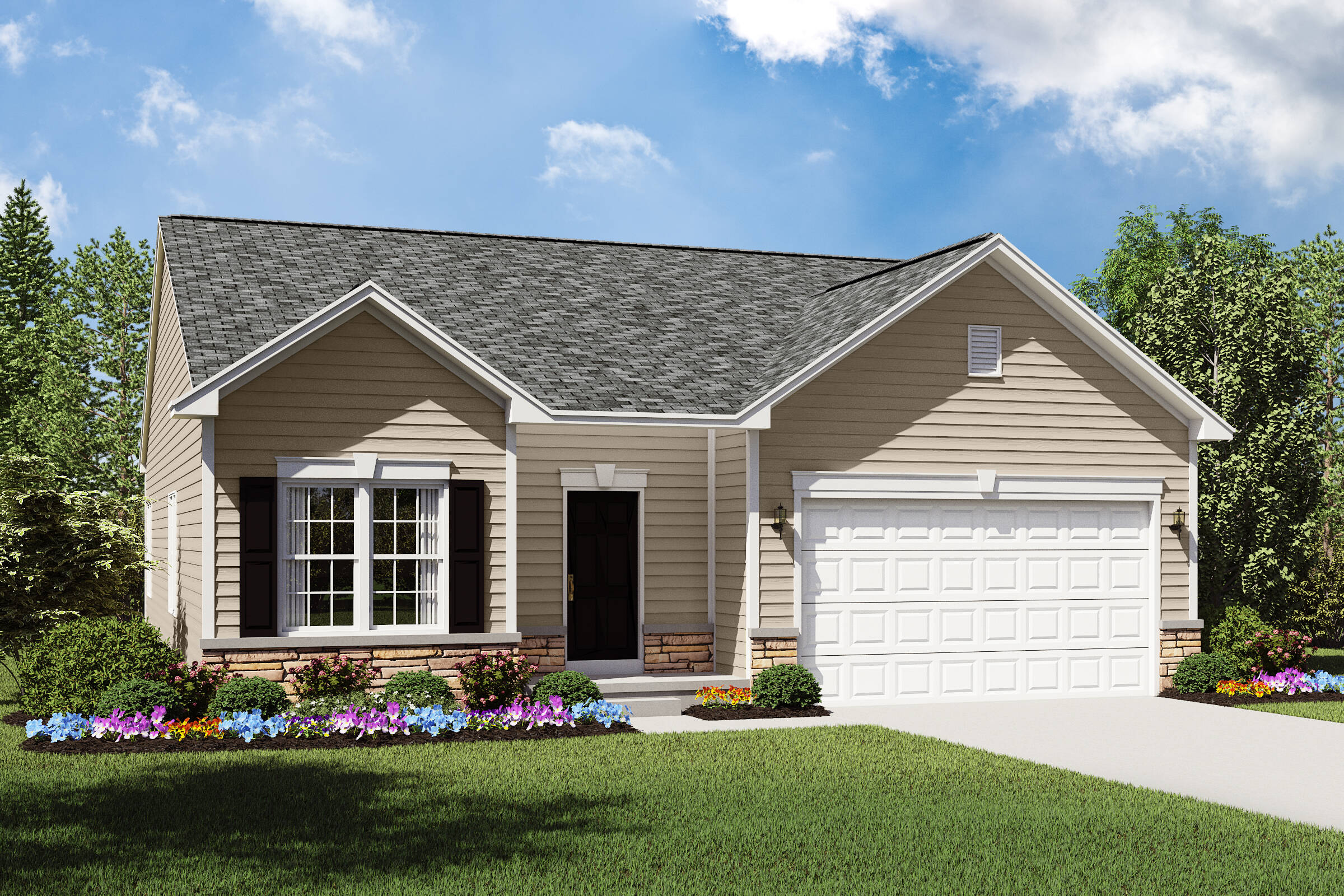 bedford bt new ranch homes northeast ohio