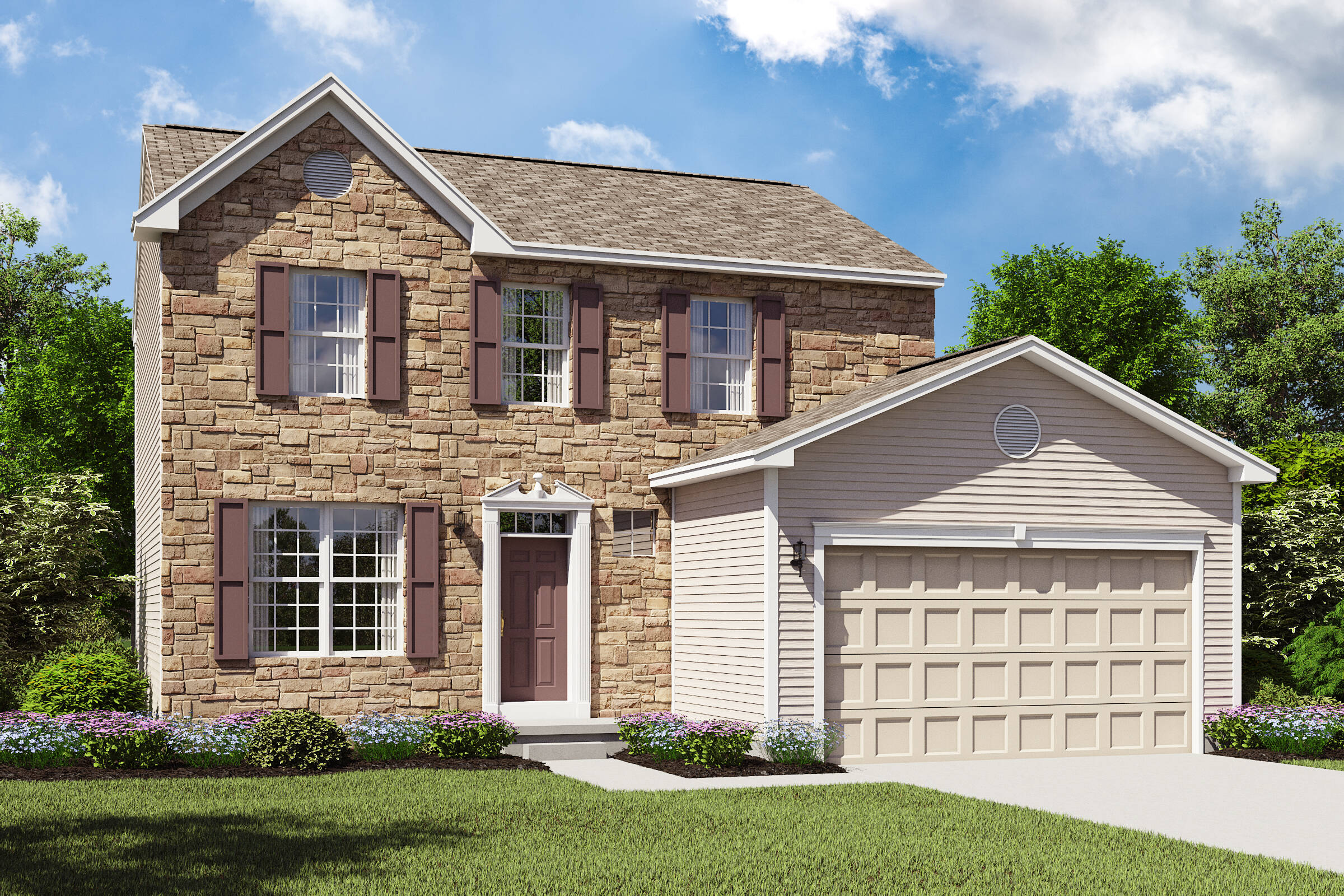 Concord II BT k hovnanian new homes cleveland