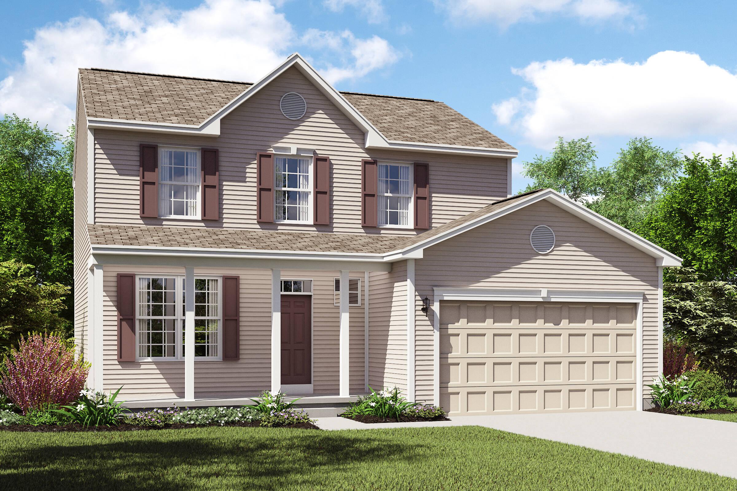 Concord II CS new homes northeast ohio