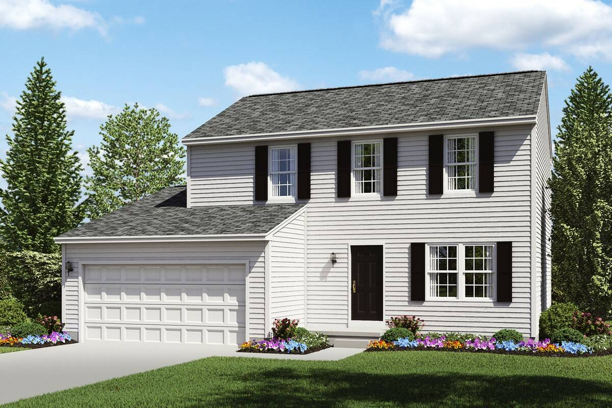 three bedroom home with two bathrooms