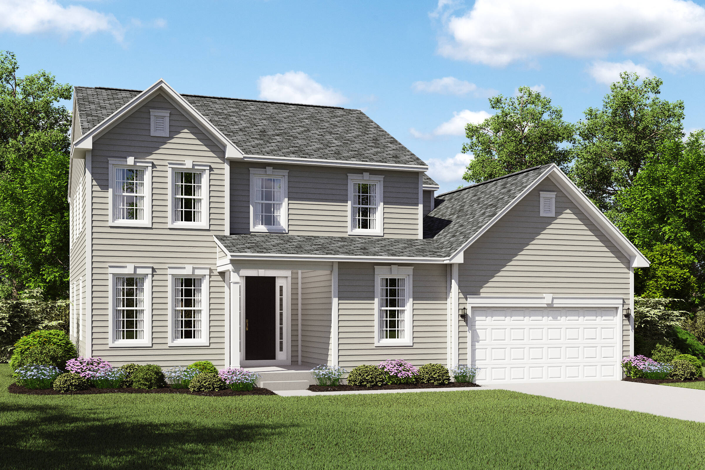 hopewell bs northeast ohio two story new homes