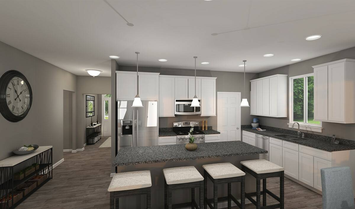 oakridge kitchen open floorplan new homes northeast ohio