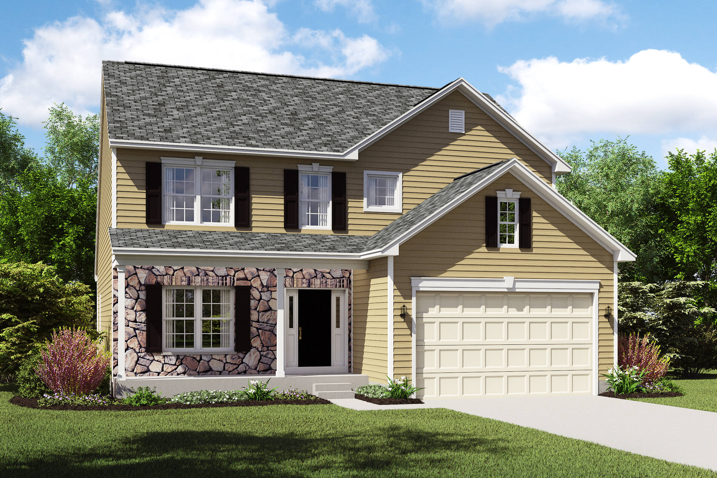 Oakridge-CT meadow lakes new homes near cleveland