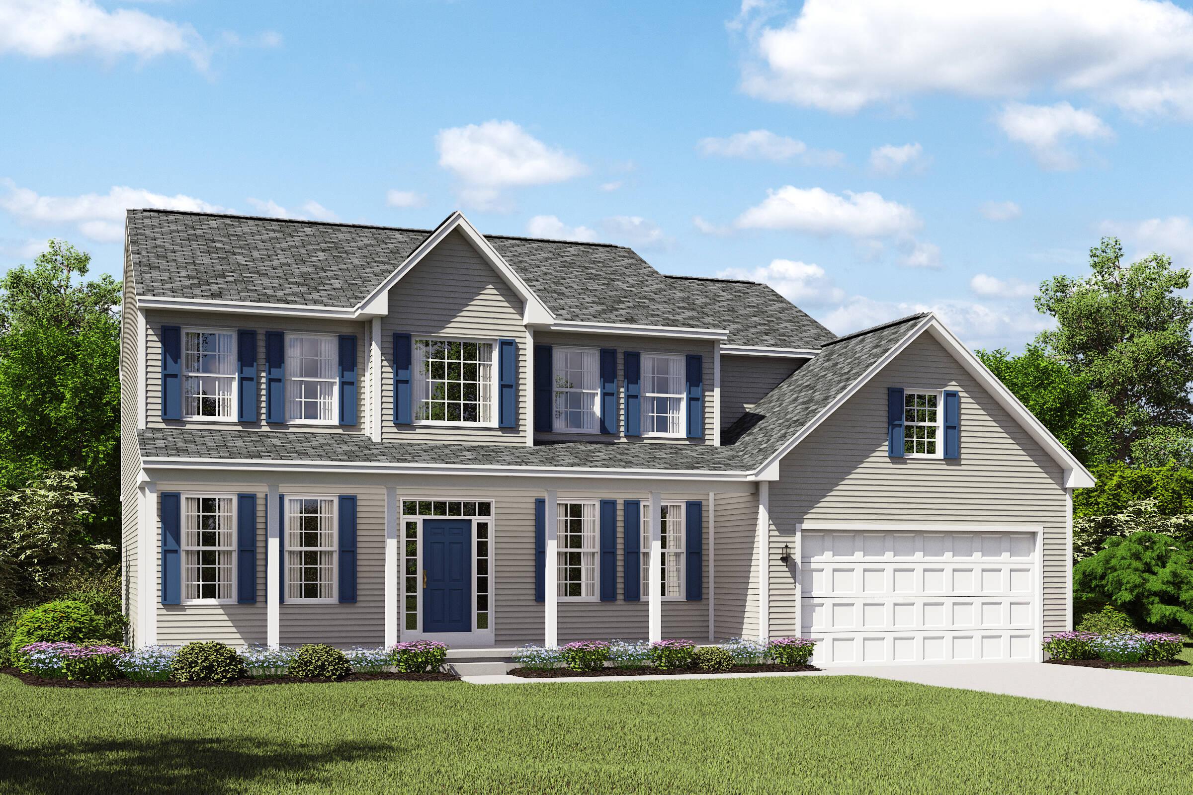Waterbury II BS luxury two story homes k hovnanian homes