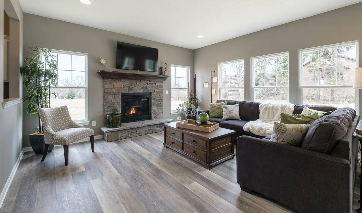 Great room with opt. fireplace