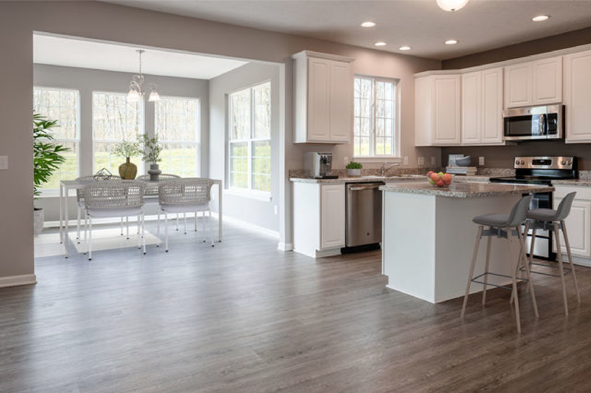 Open concept layout cleveland ohio