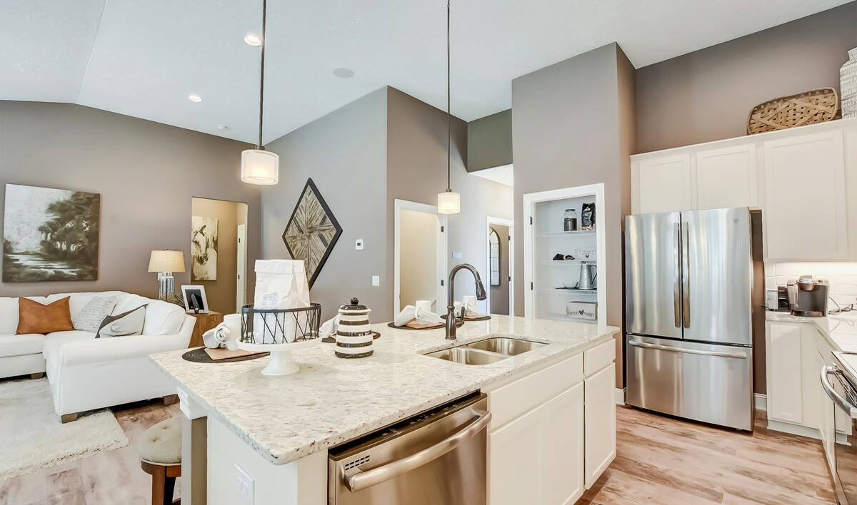 The Preserve at Meadow Lakes - Bedford Kitchen-4