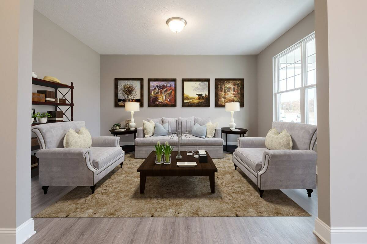 Shelton formal living room
