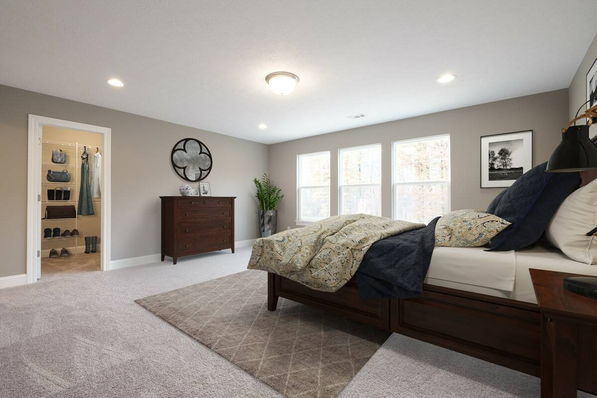 Shelton master bedroom