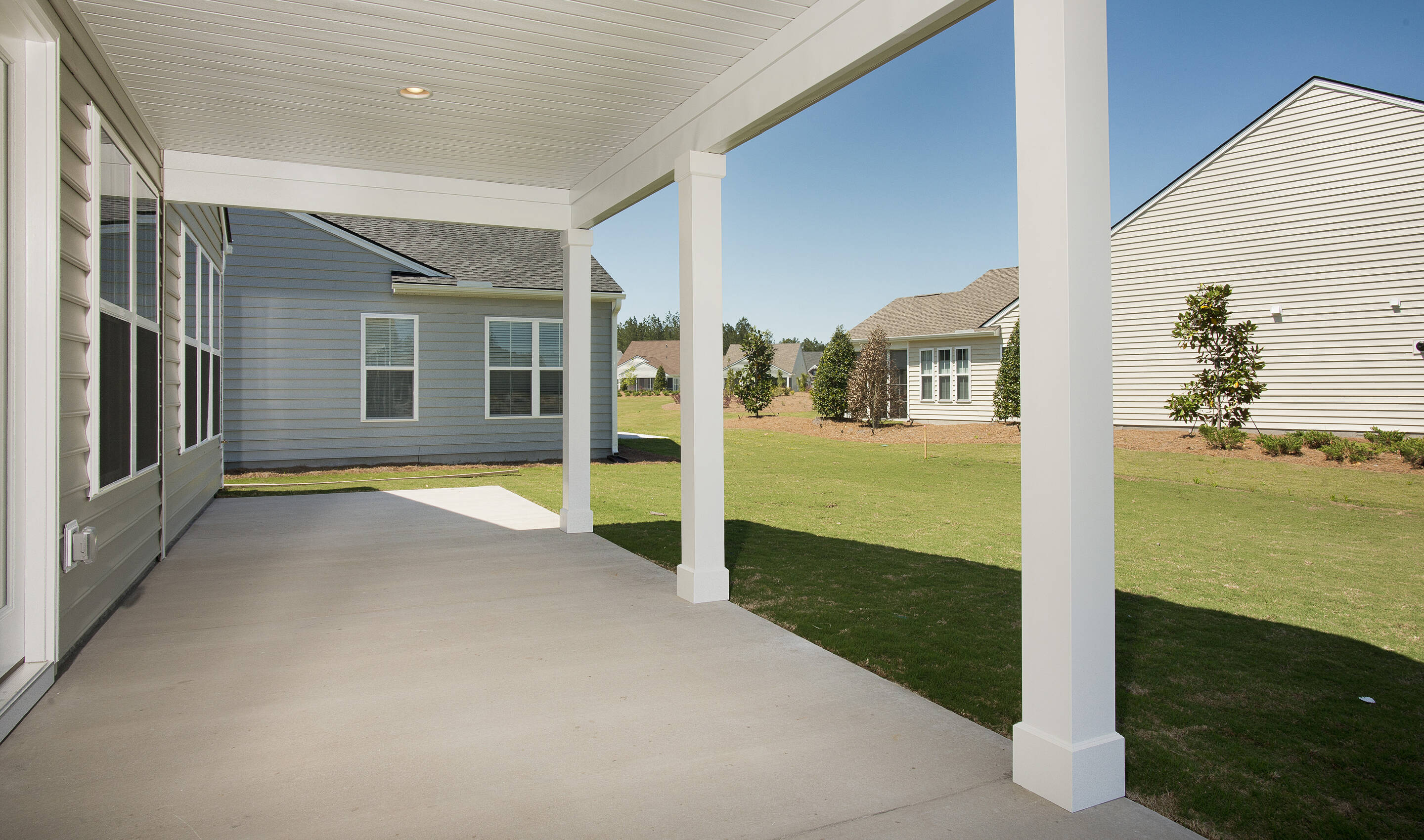 porch dorchester 544 lot 202 new homes at cane bay