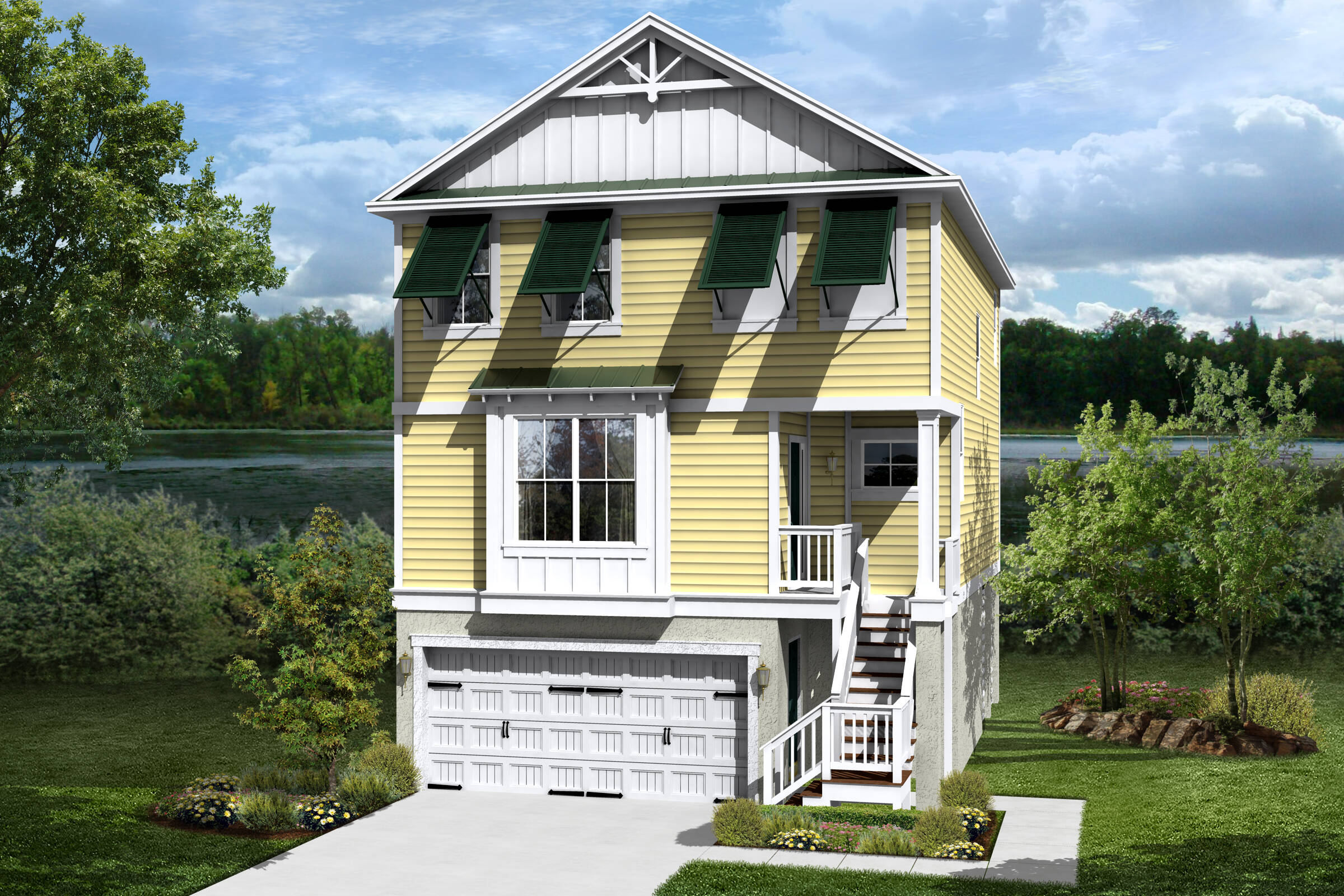 ... Palm D New Homes At Salt Creek Landing