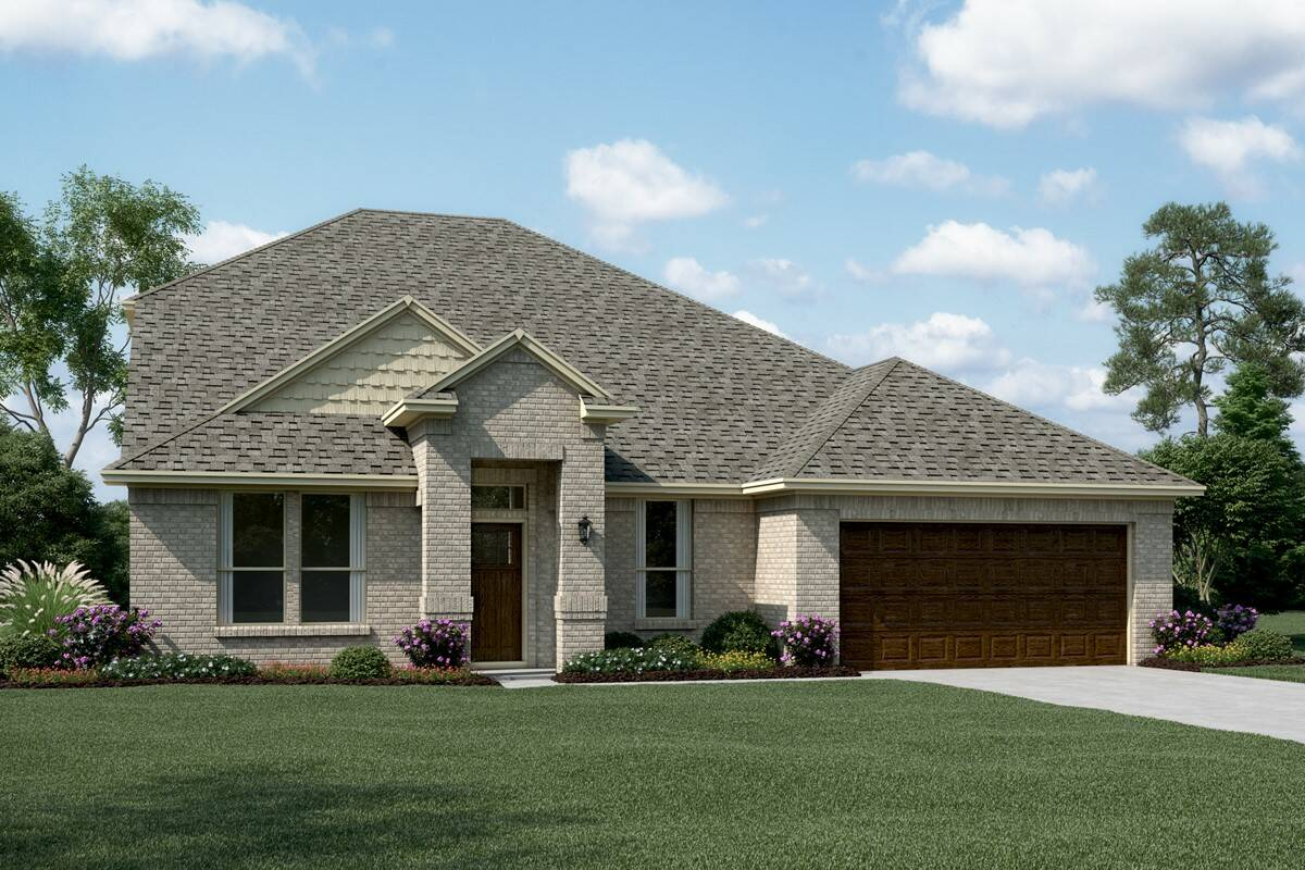 Ashmont II A new homes dallas tx