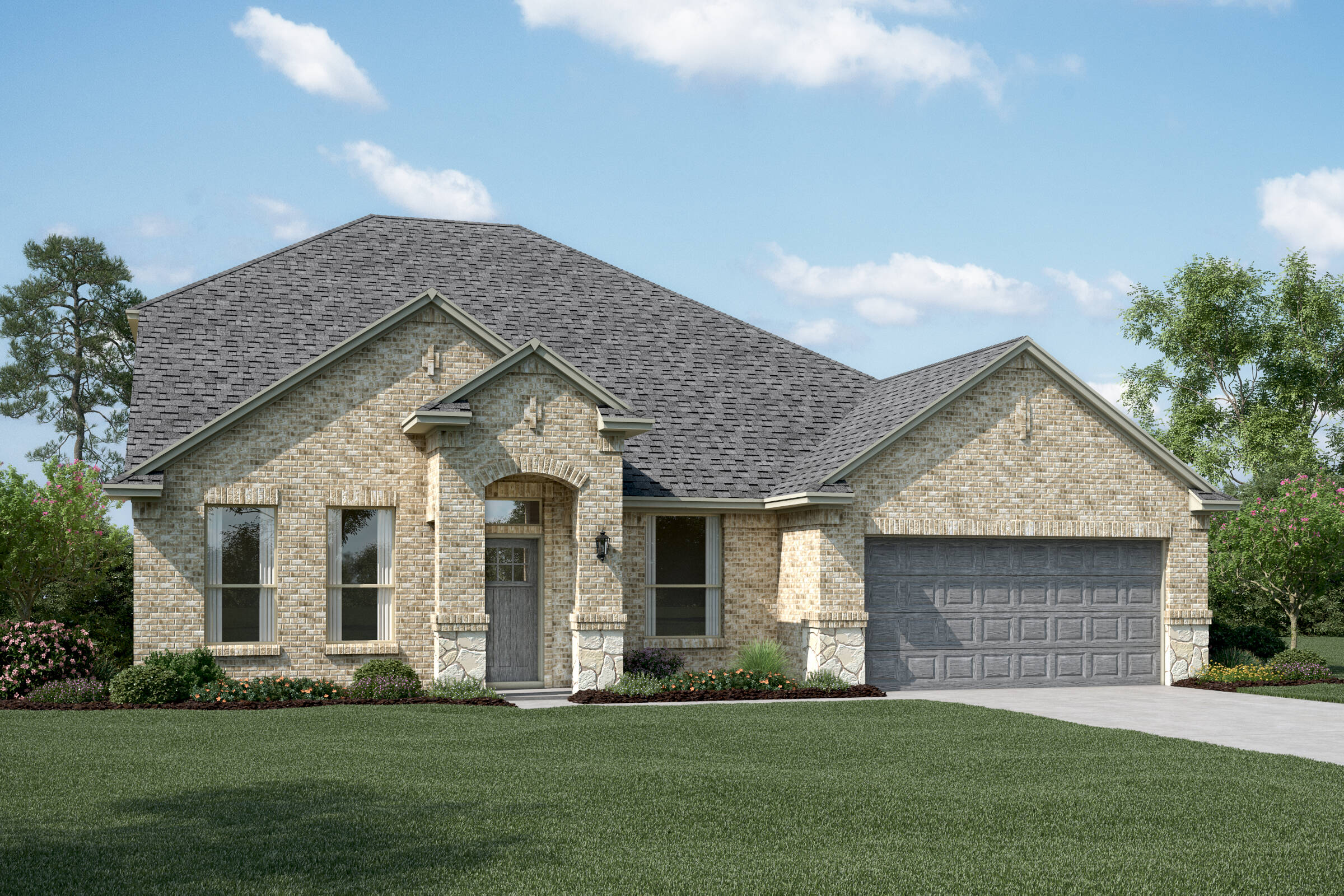 Ashmont II B Stone new homes dallas tx