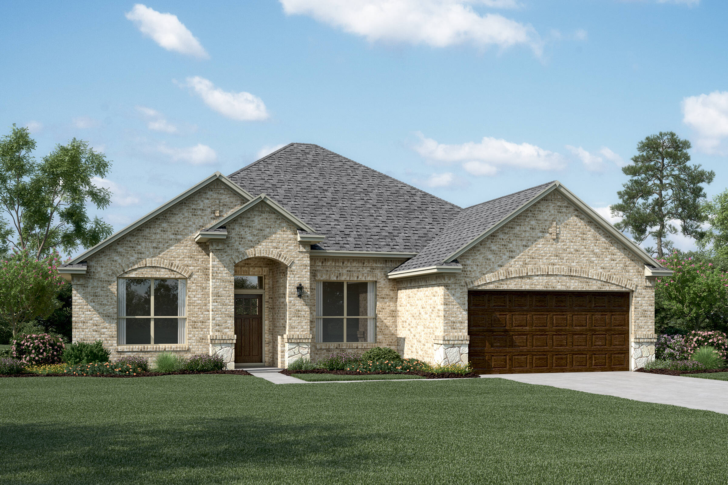 Avery II B Stone new homes dallas tx