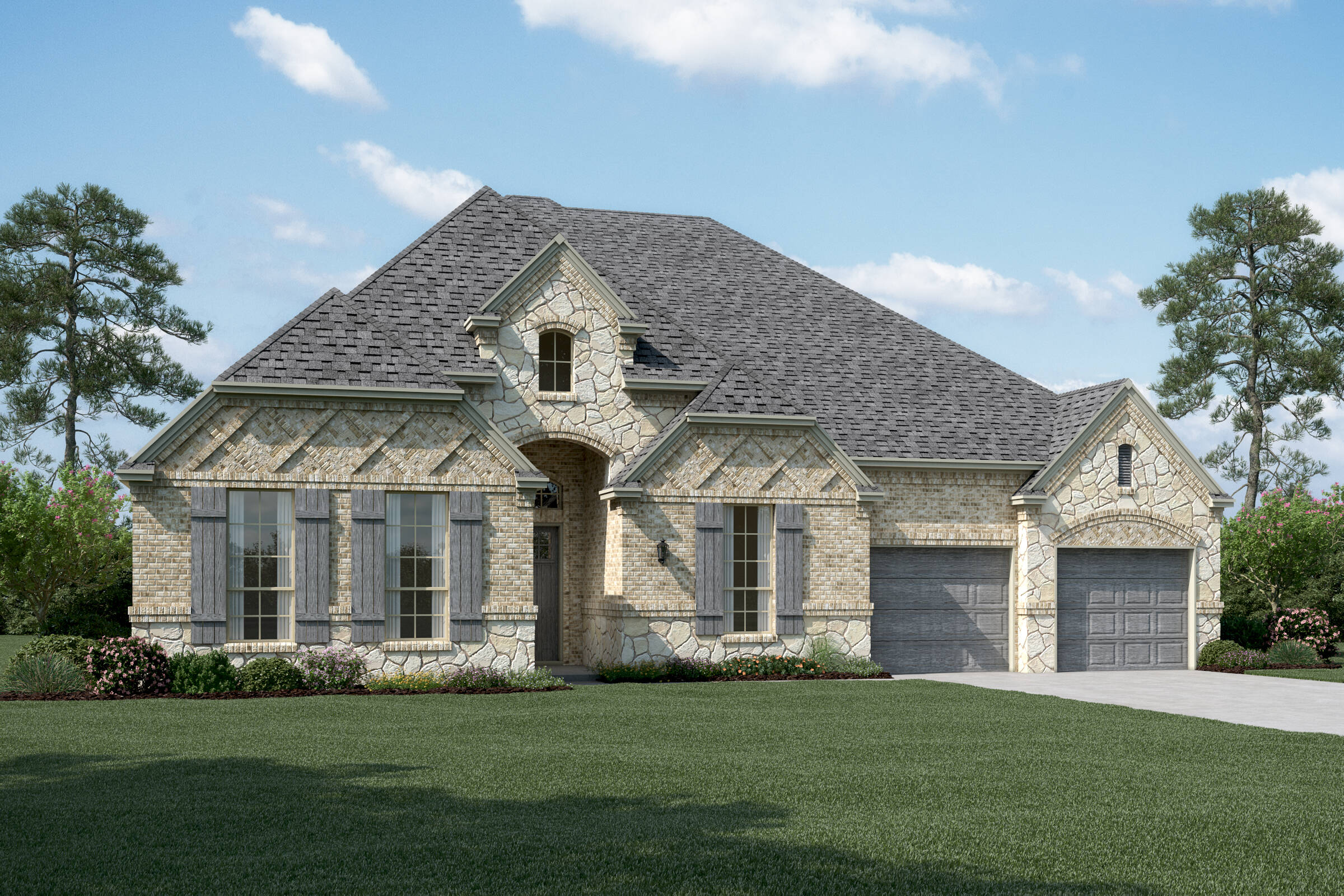 Barrington B Stone new homes dallas tx