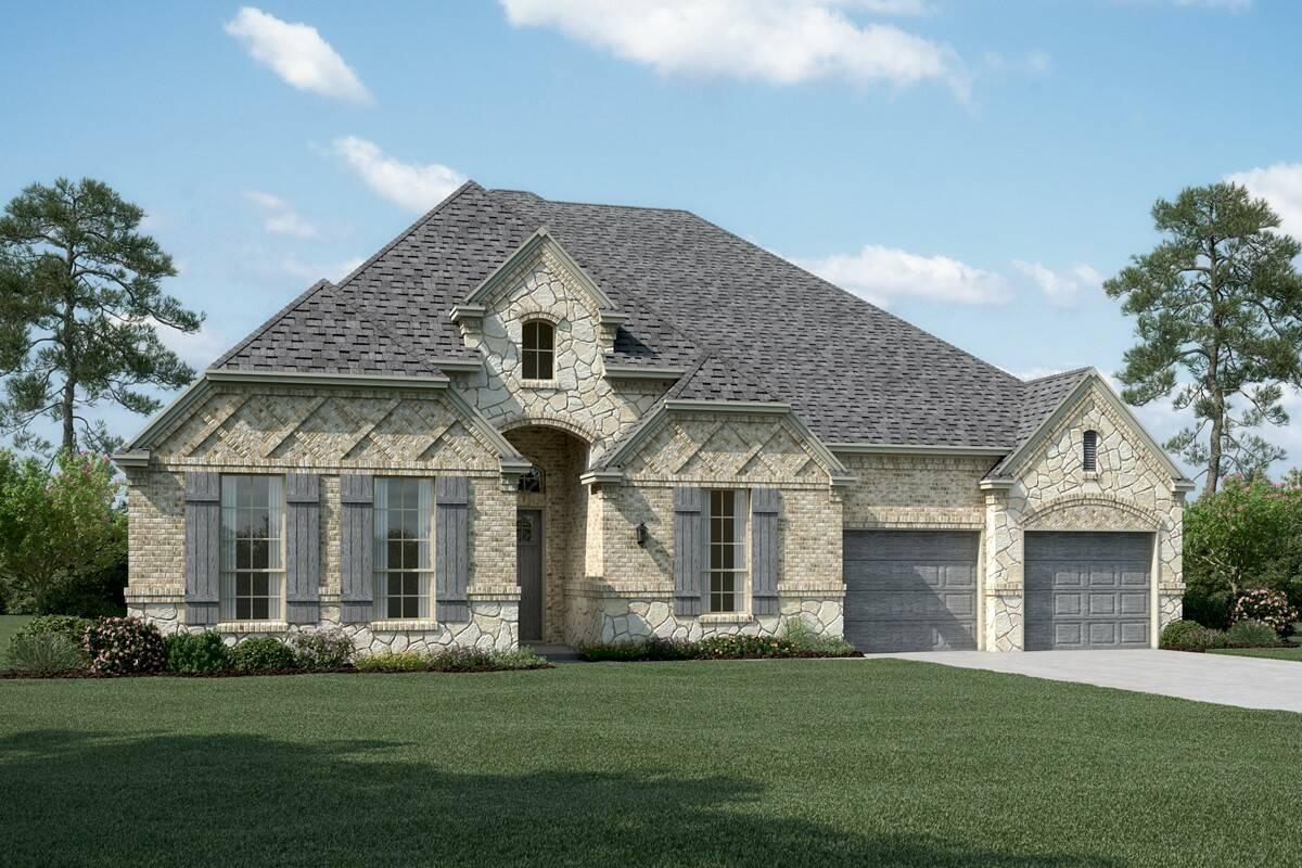Barrington B Stone new homes dallas tx