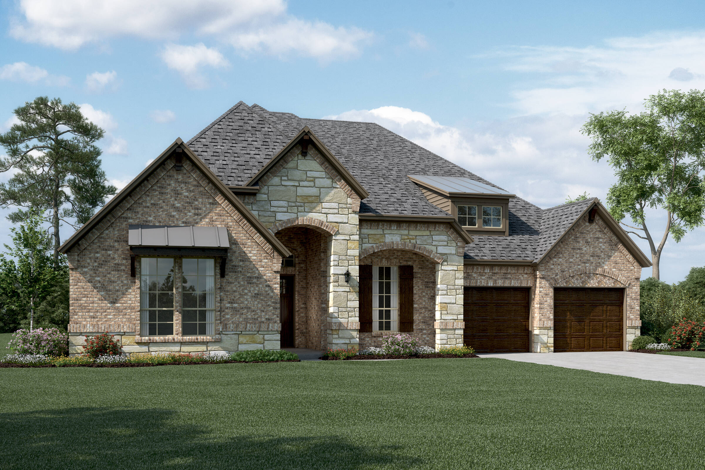 Barrington C Stone new homes dallas tx