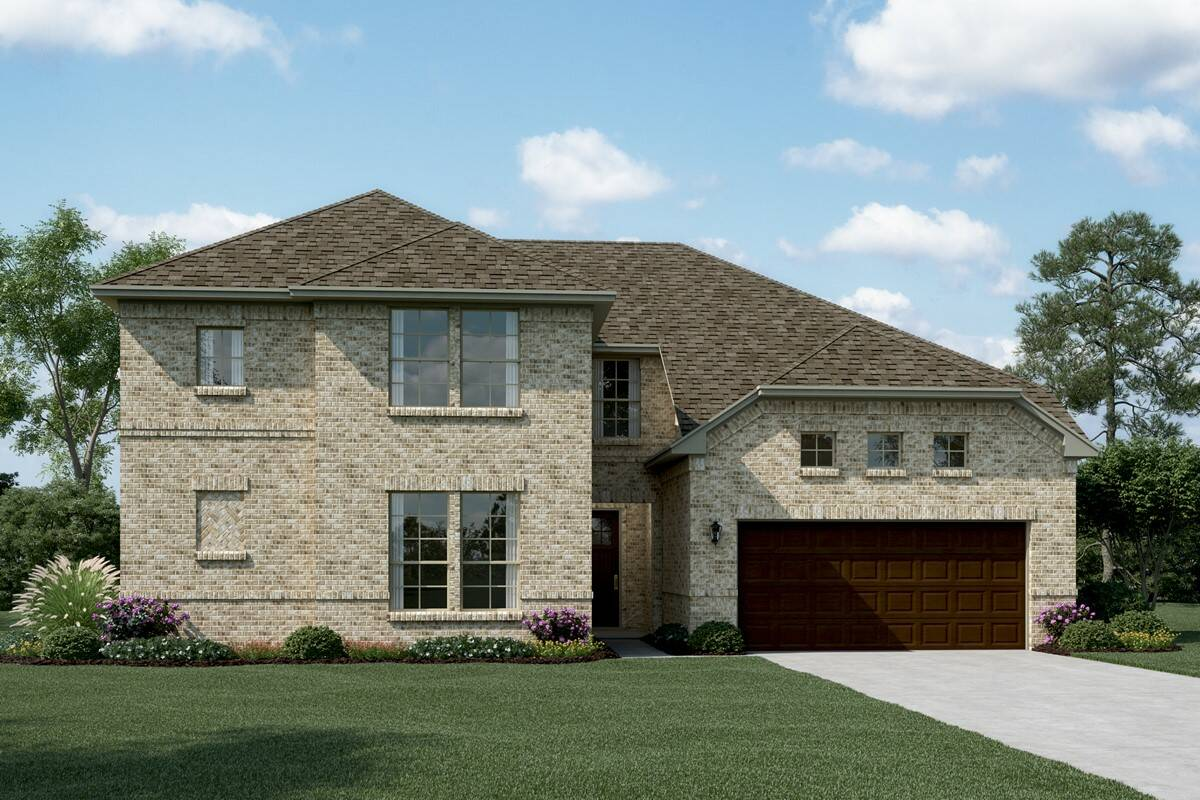 Bordeaux A new homes dallas tx