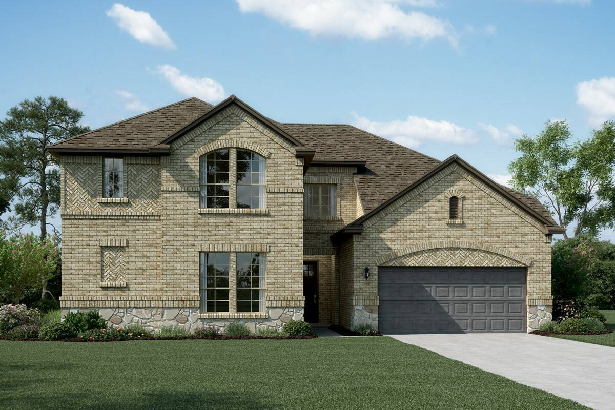 Bordeaux B Stone new homes dallas tx