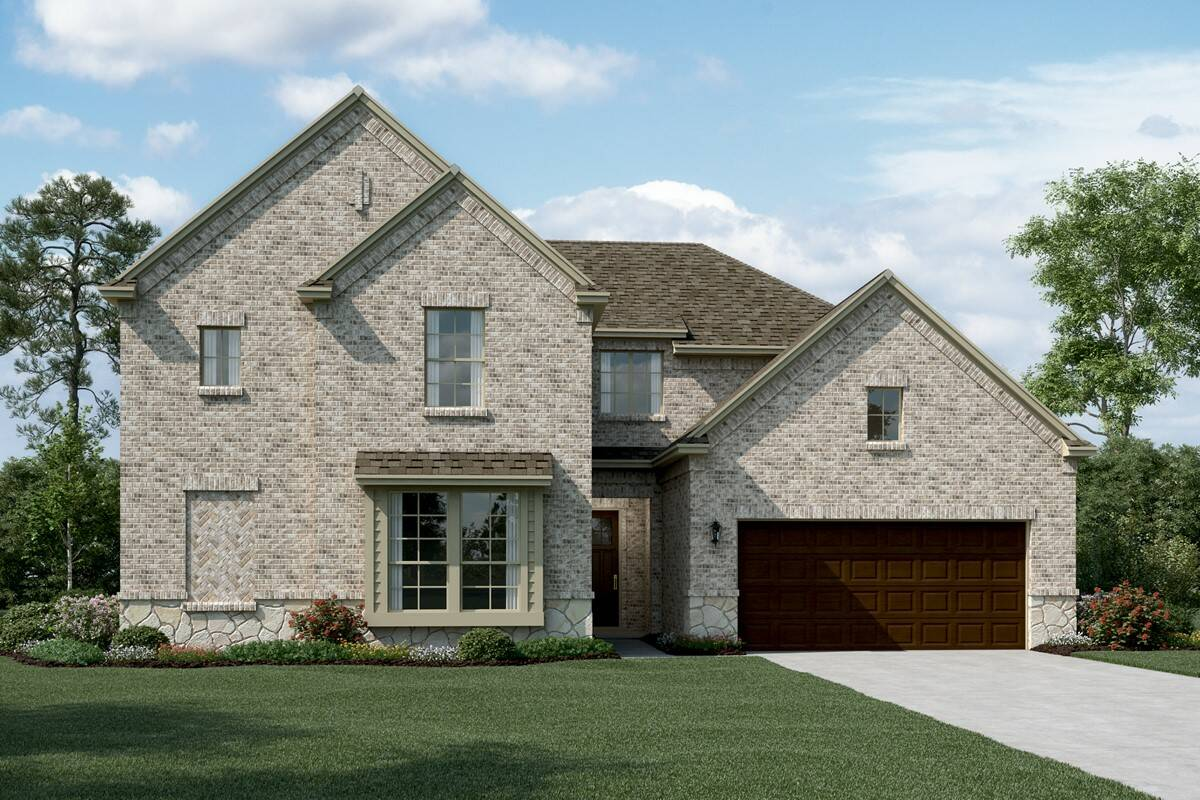 Bordeaux C Stone new homes dallas tx