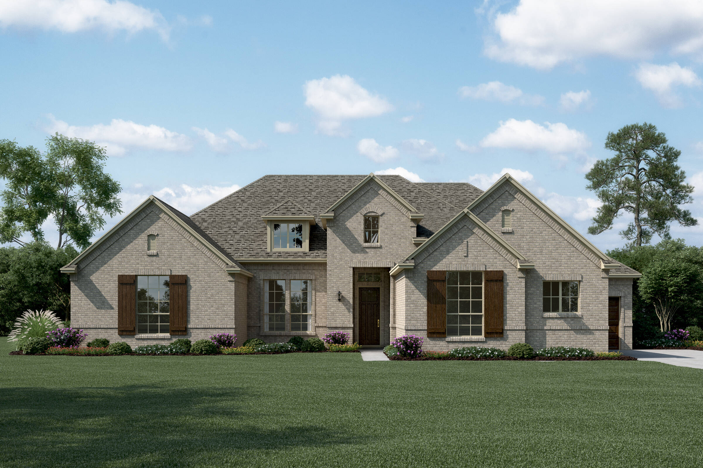 Brookside J new homes dallas tx