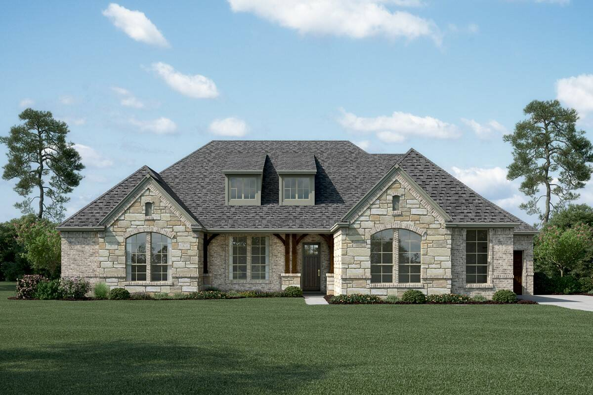 Brookside K Stone new homes dallas tx