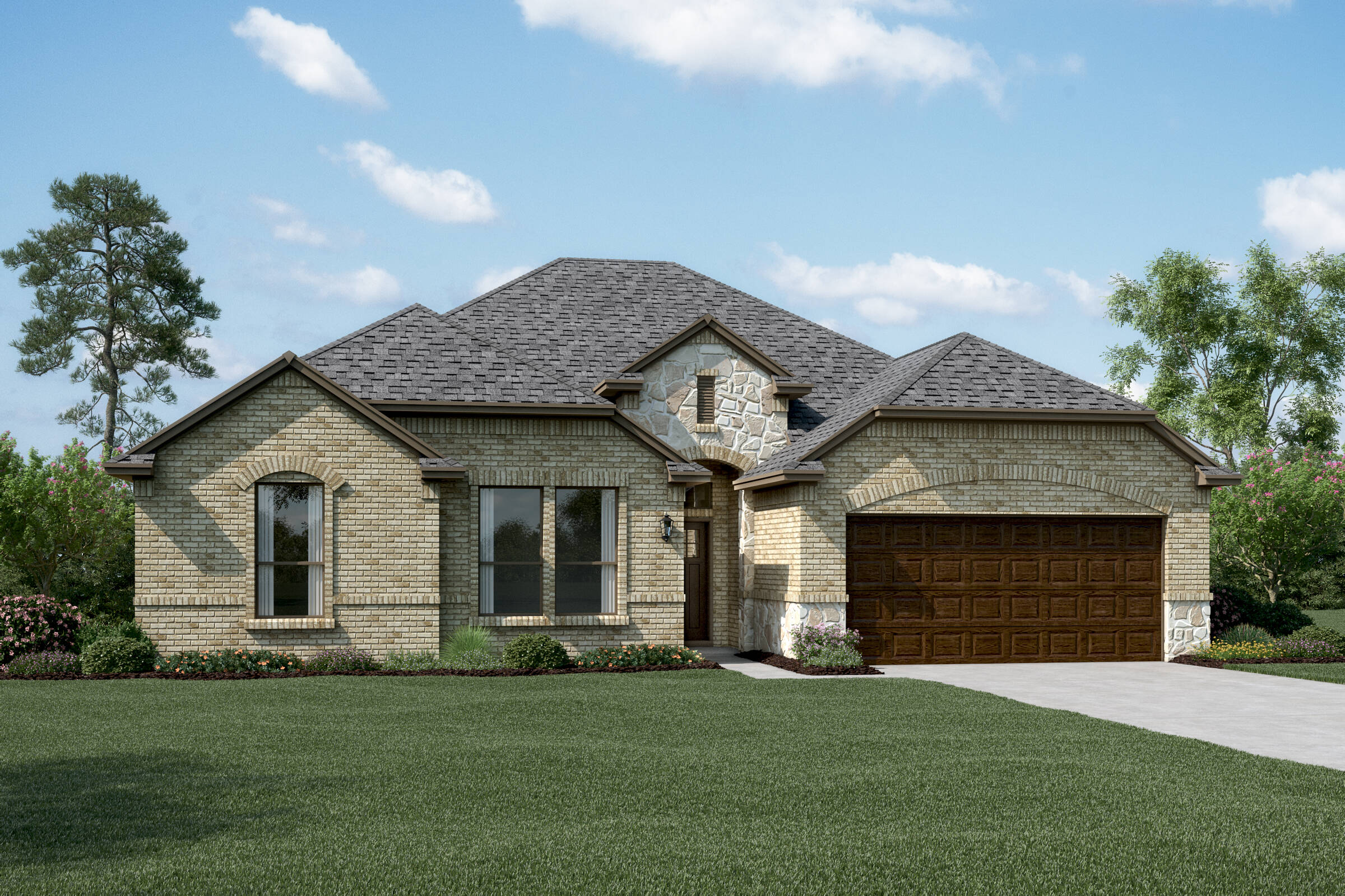 Brookstone II B Stone new homes dallas tx