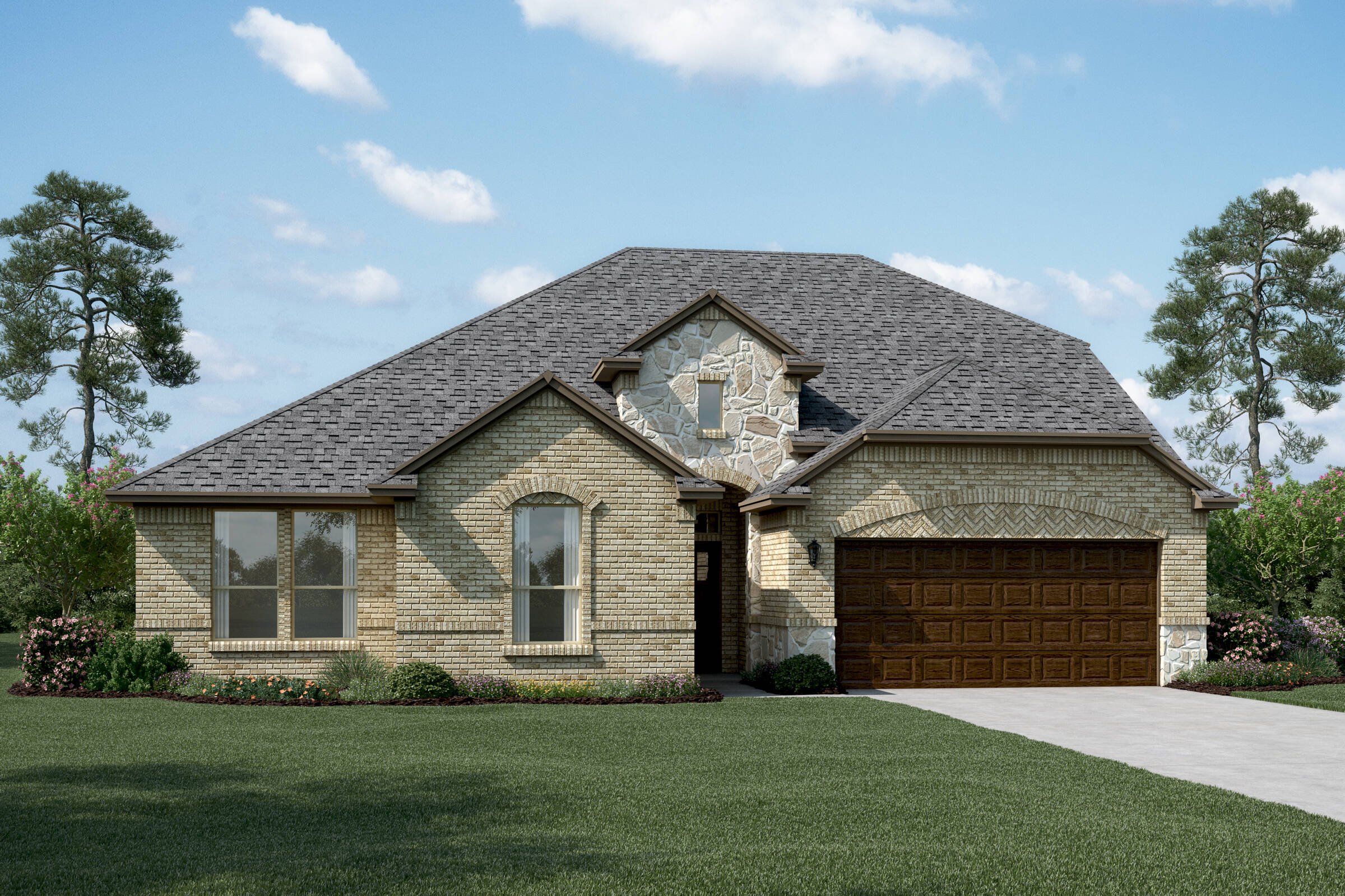 Brookstone IV B Stone new homes dallas tx