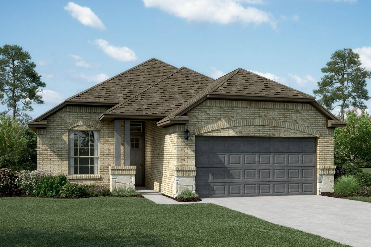 Carlisle II B Stone new homes dallas tx
