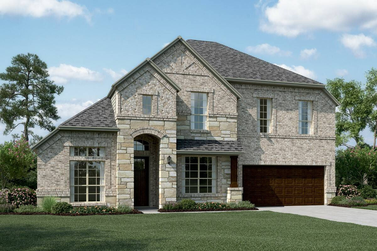 Clarendon V D Stone new homes dallas tx
