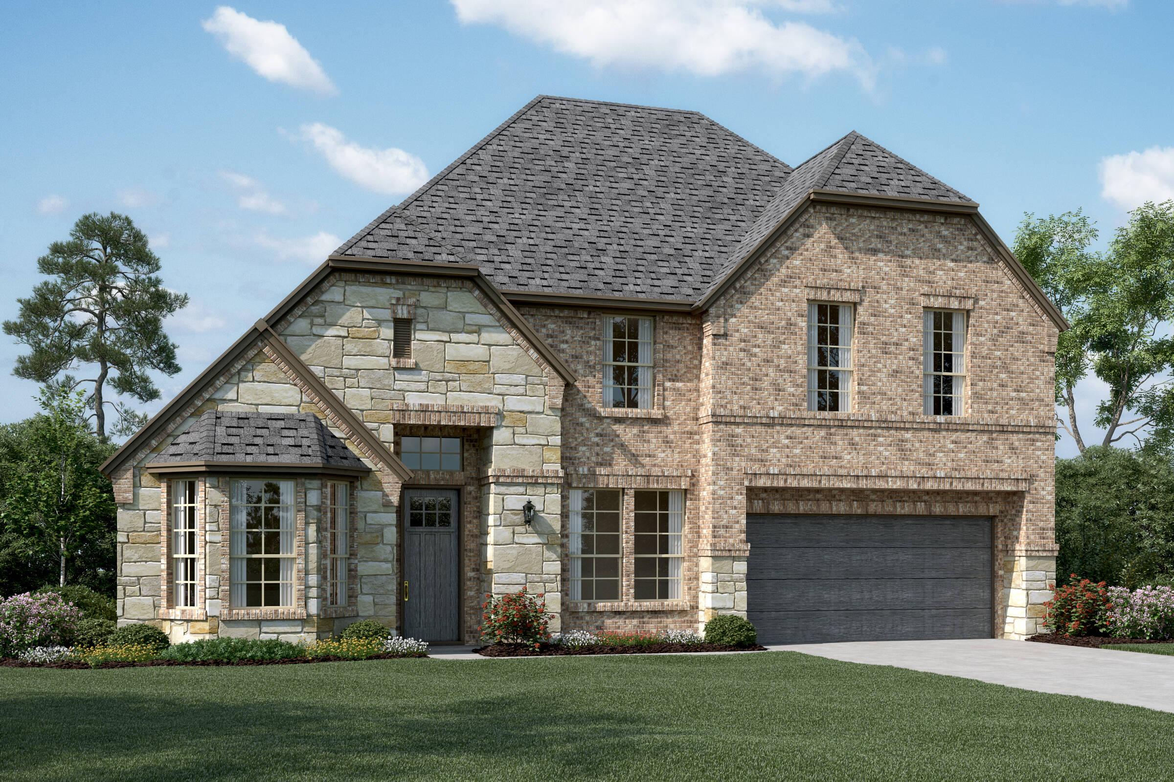 Clarendon V E Stone new homes dallas tx
