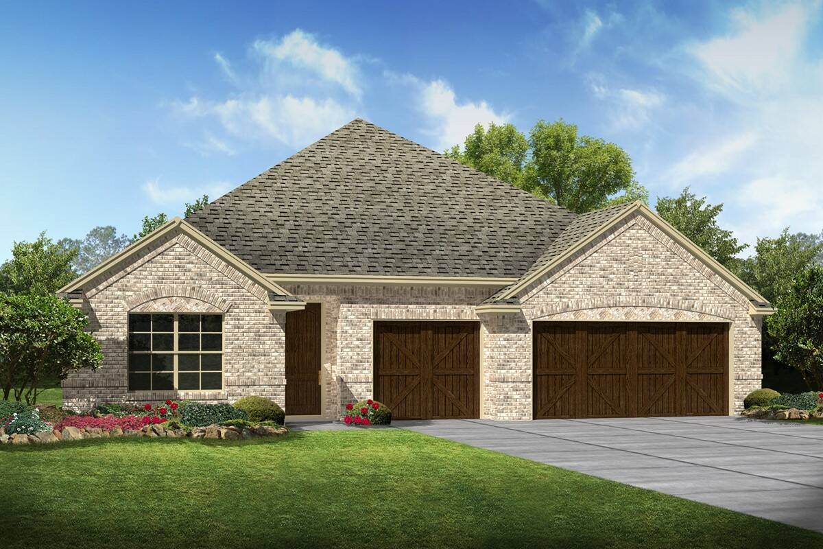 Cooperfield II A new homes dallas tx