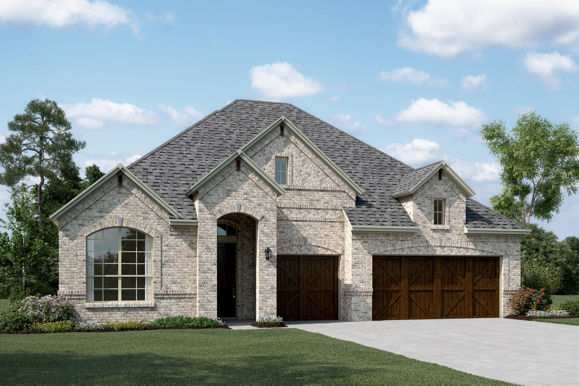 Cooperfield III C new homes dallas texas