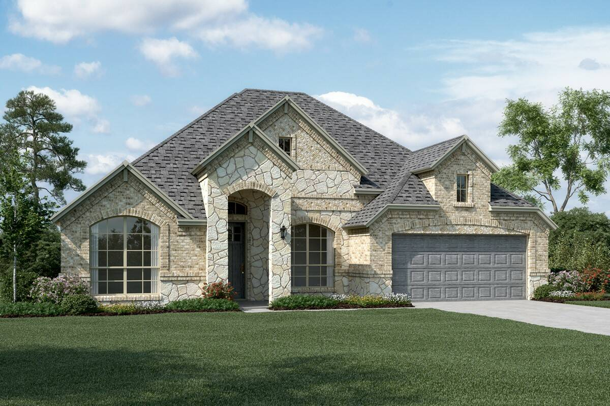 Cooperfield IV C Stone new homes dallas tx