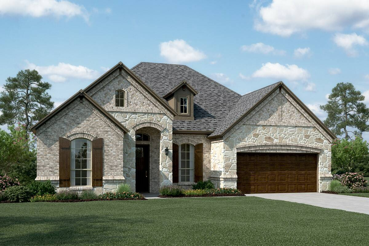 Cooperfield V D Stone new homes dallas tx