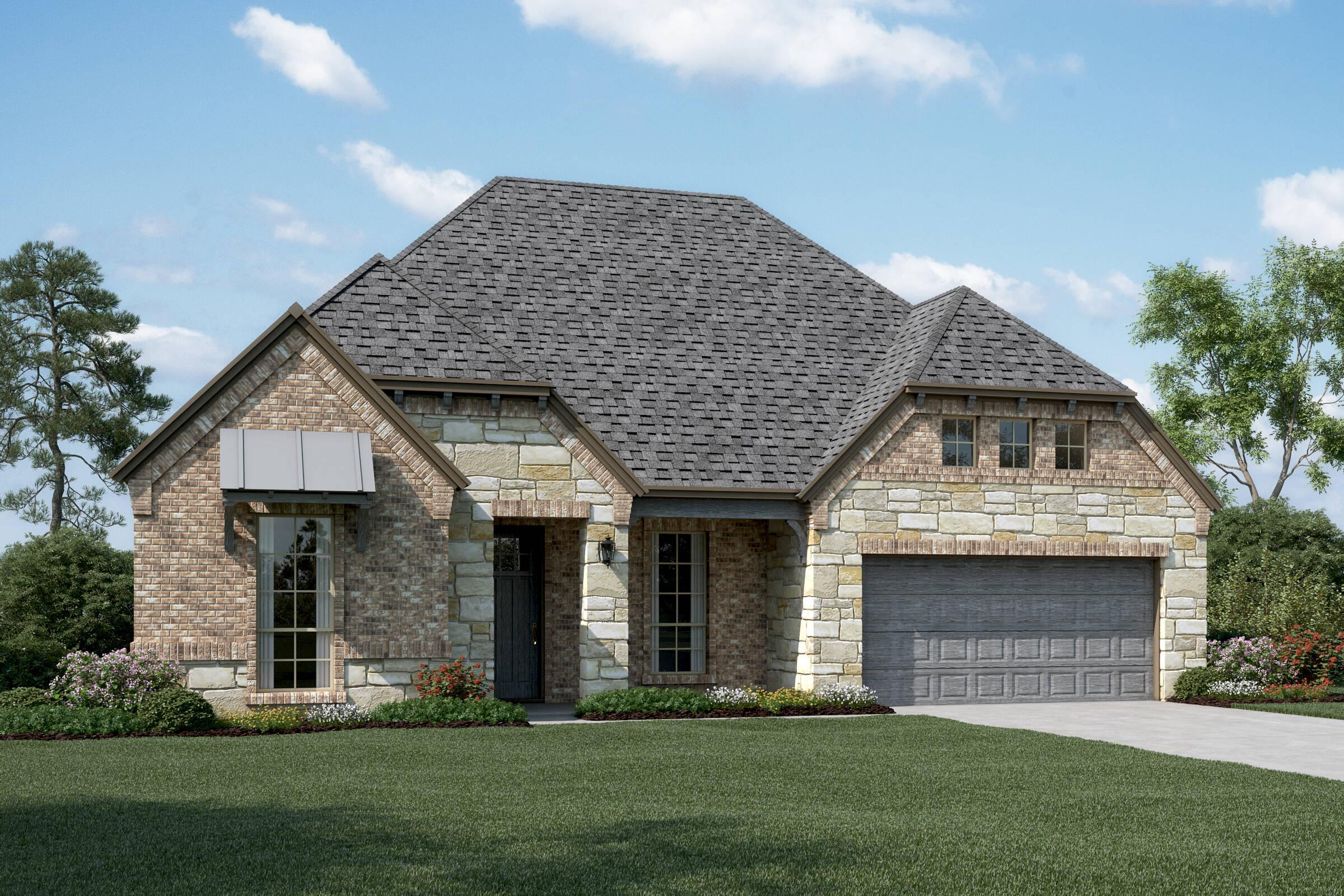 Cooperfield V E Stone new homes dallas tx